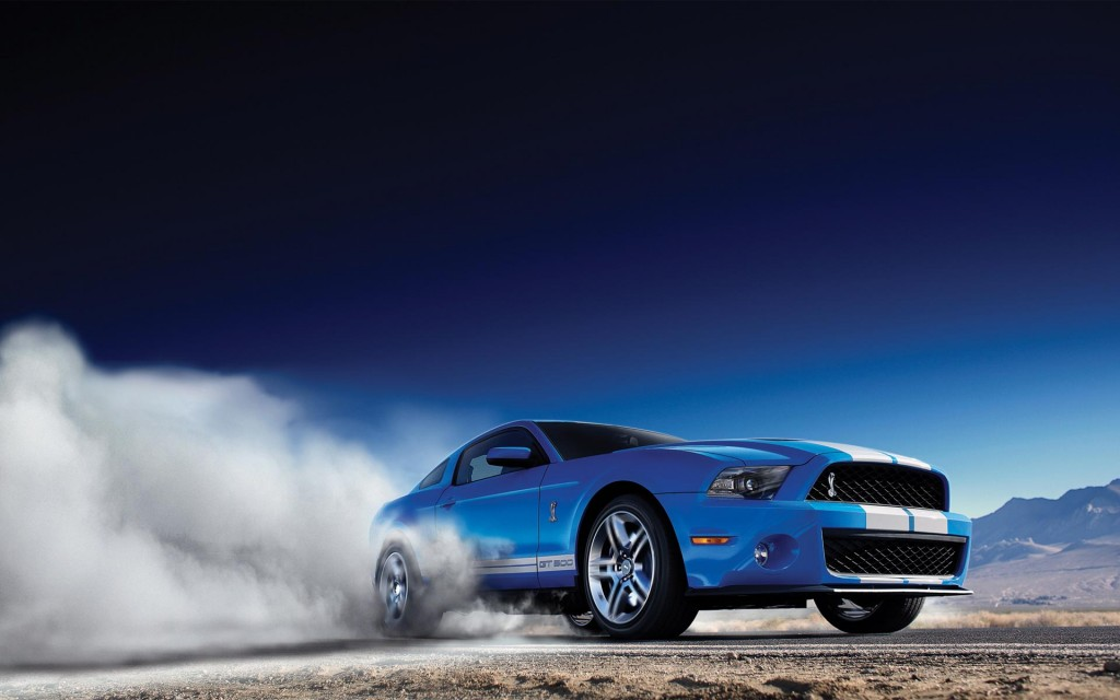ford mustang car burnout wallpapers