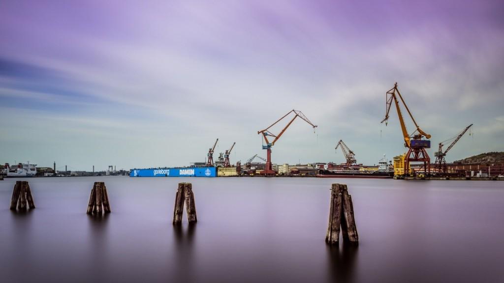 industrial harbor wallpapers