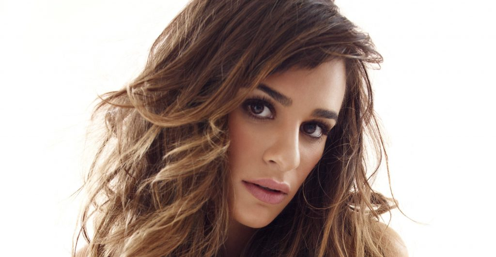 lea michele face wallpapers