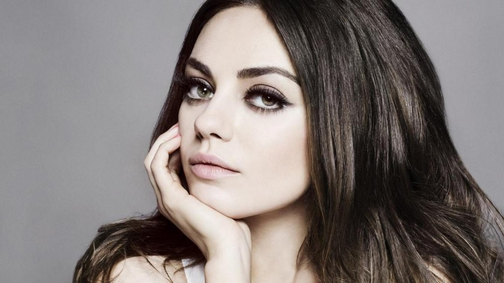 mila kunis face wallpapers
