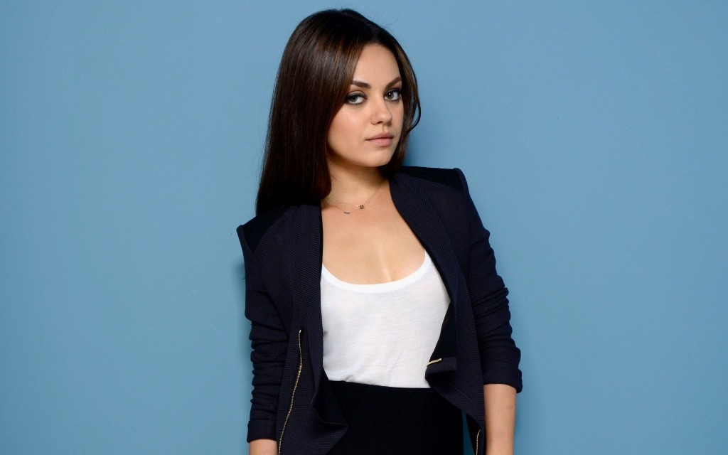 mila kunis background wallpapers