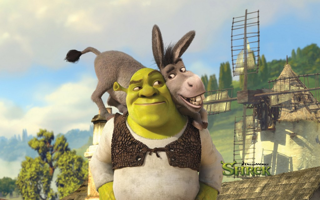 shrek and donkey wallpapers