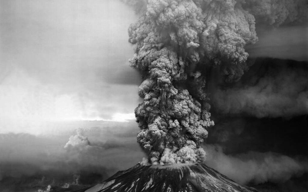 volcano smoke wallpapers