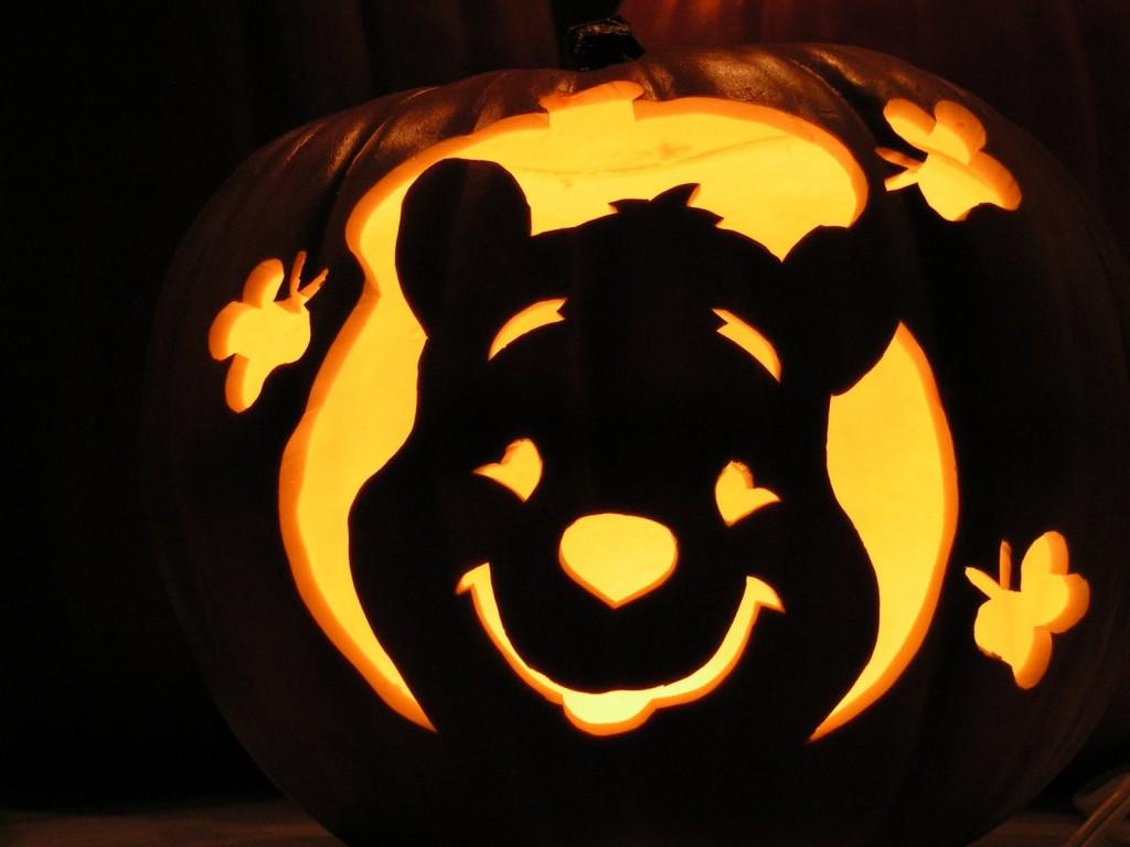 Winnie The Poop Pumpkin Carving