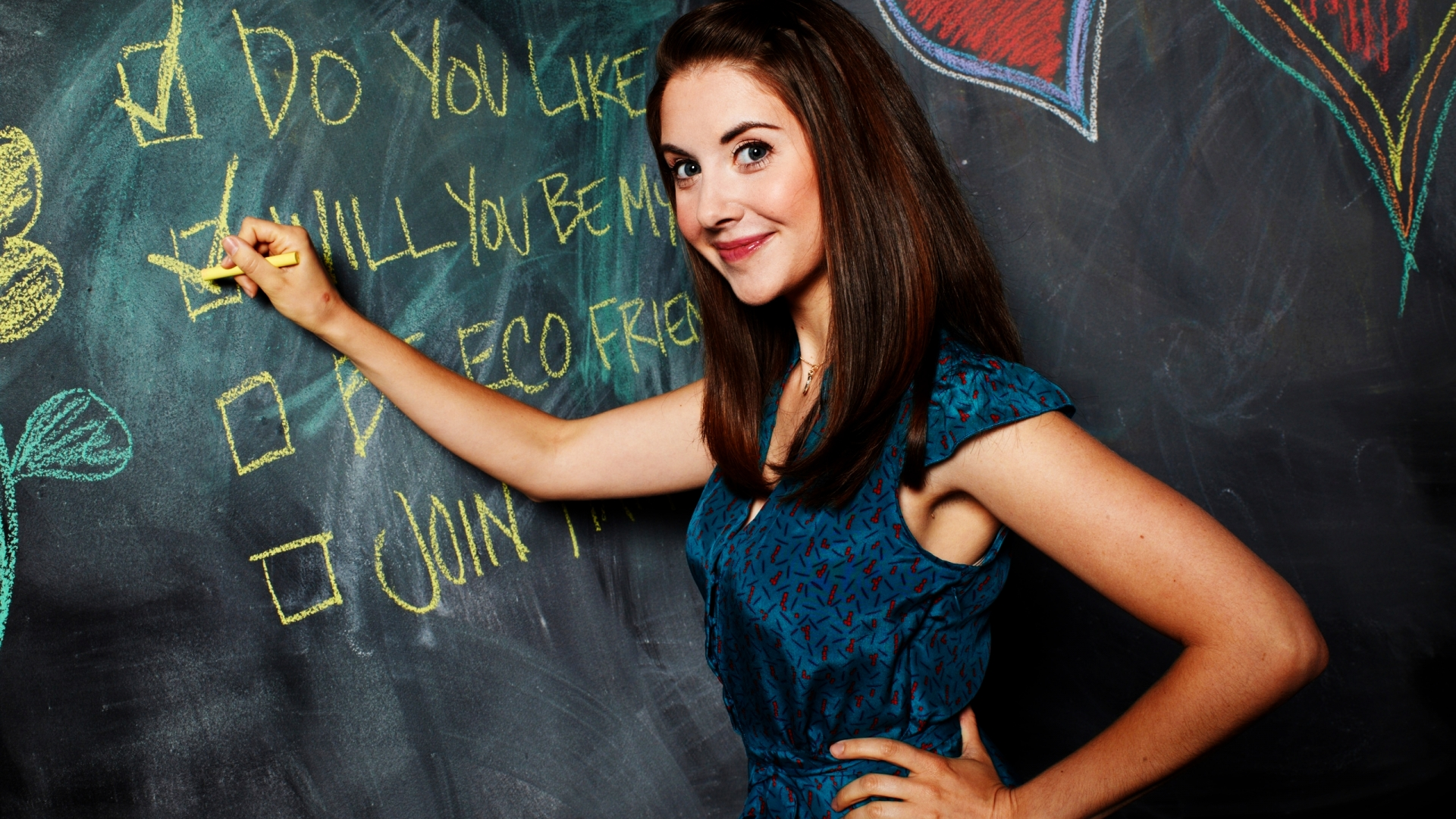 8 Hd Alison Brie Wallpapers-6202