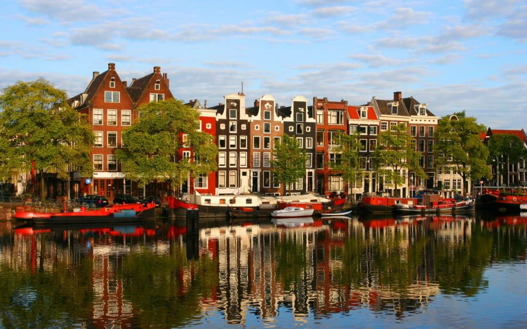amsterdam city wide wallpapers