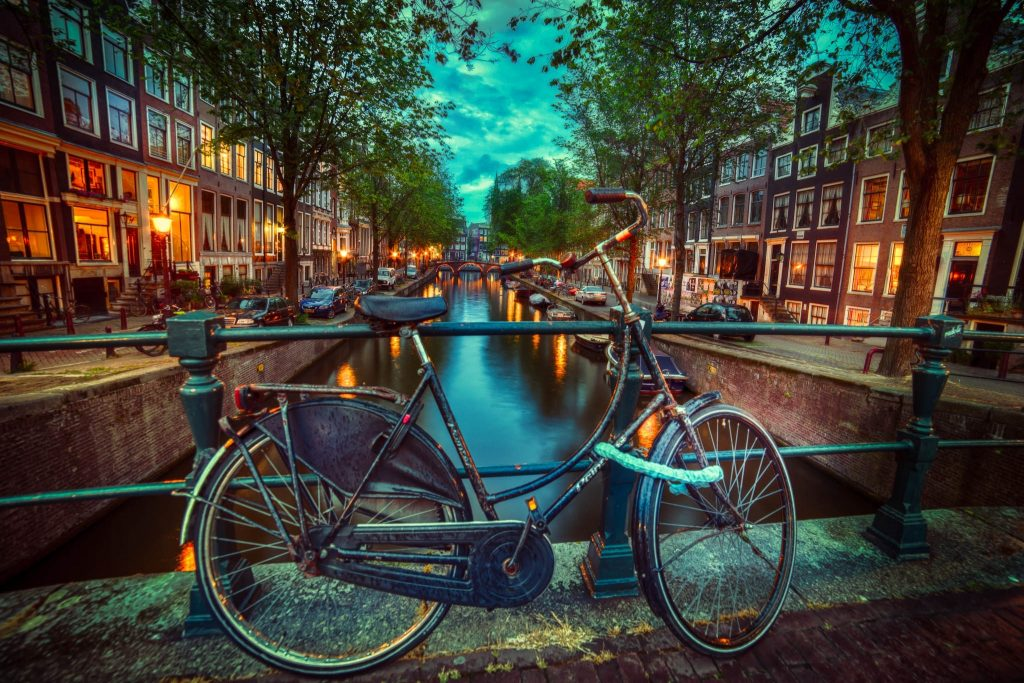amsterdam evening wallpapers
