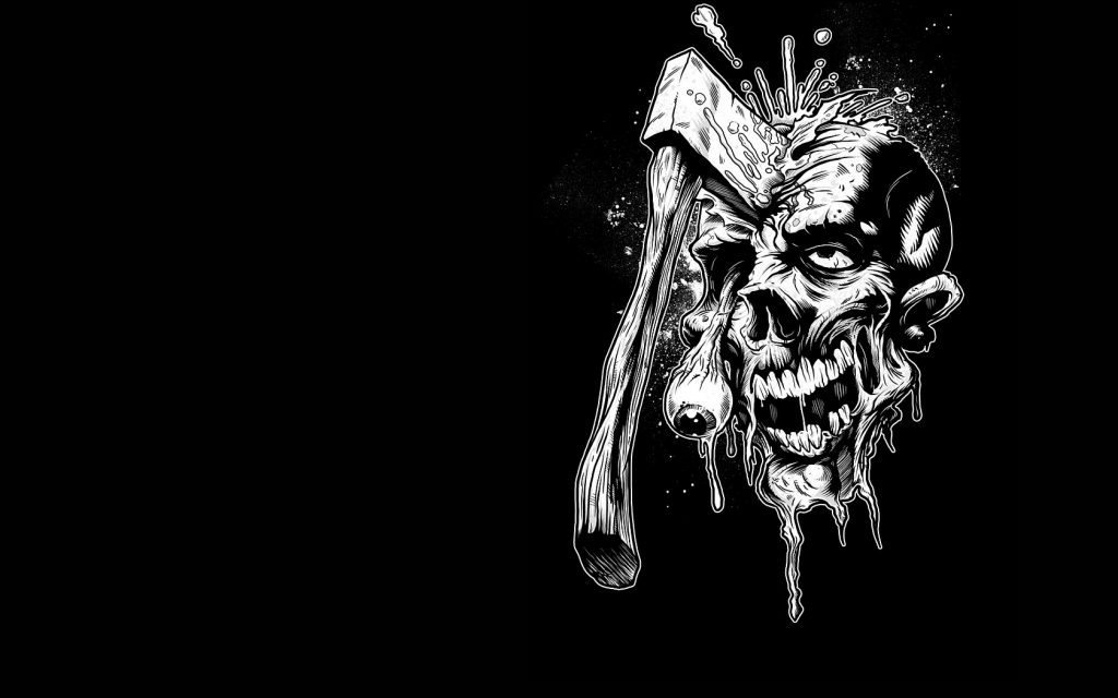 axed zombie computer wallpapers