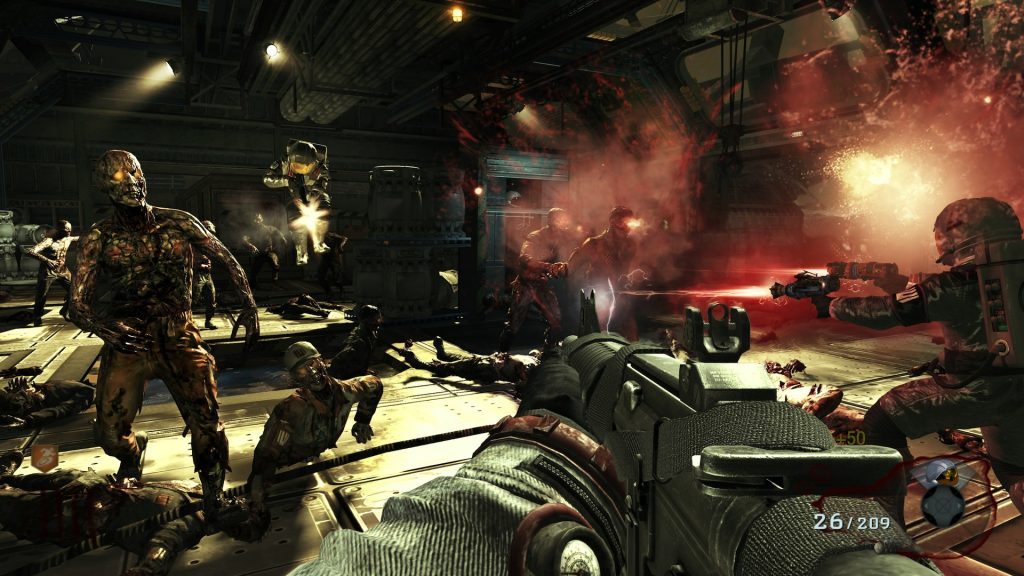 call of duty zombies moon gameplay wallpapers
