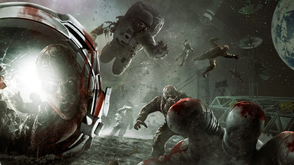 call of duty zombies moon wallpapers