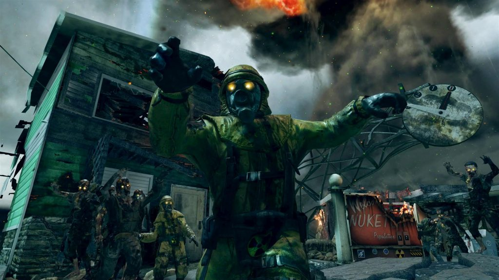 call of duty zombies nuketown wallpapers