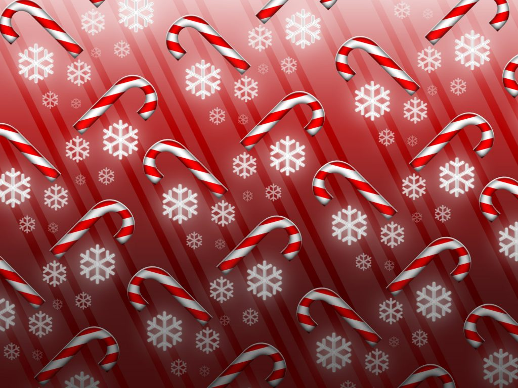 candy cane art holiday wallpapers