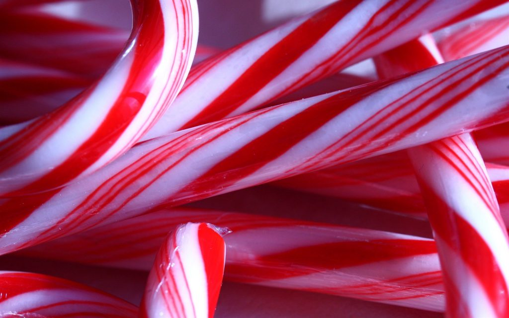 candy cane up close background wallpapers
