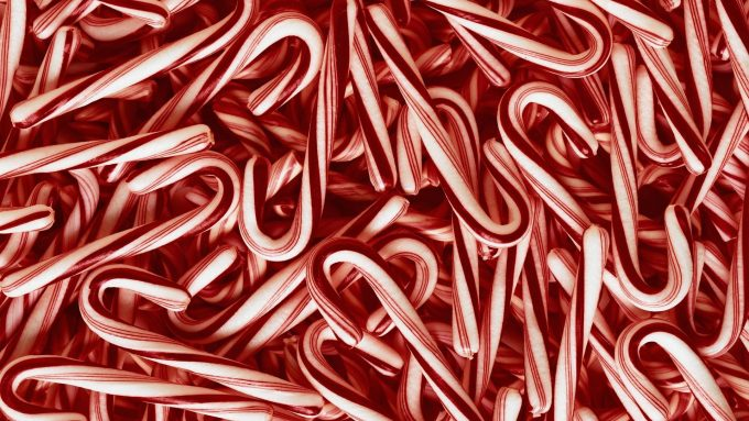 10 Wonderful Hd Candy Cane Wallpapers