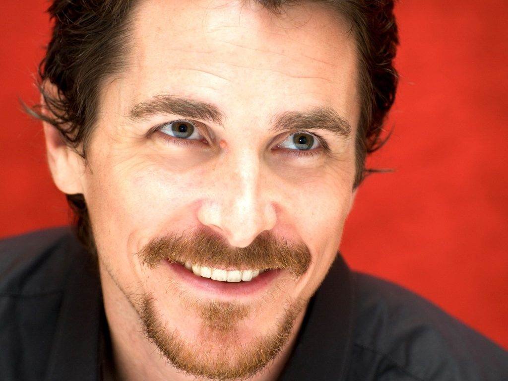 christian bale smile wallpapers