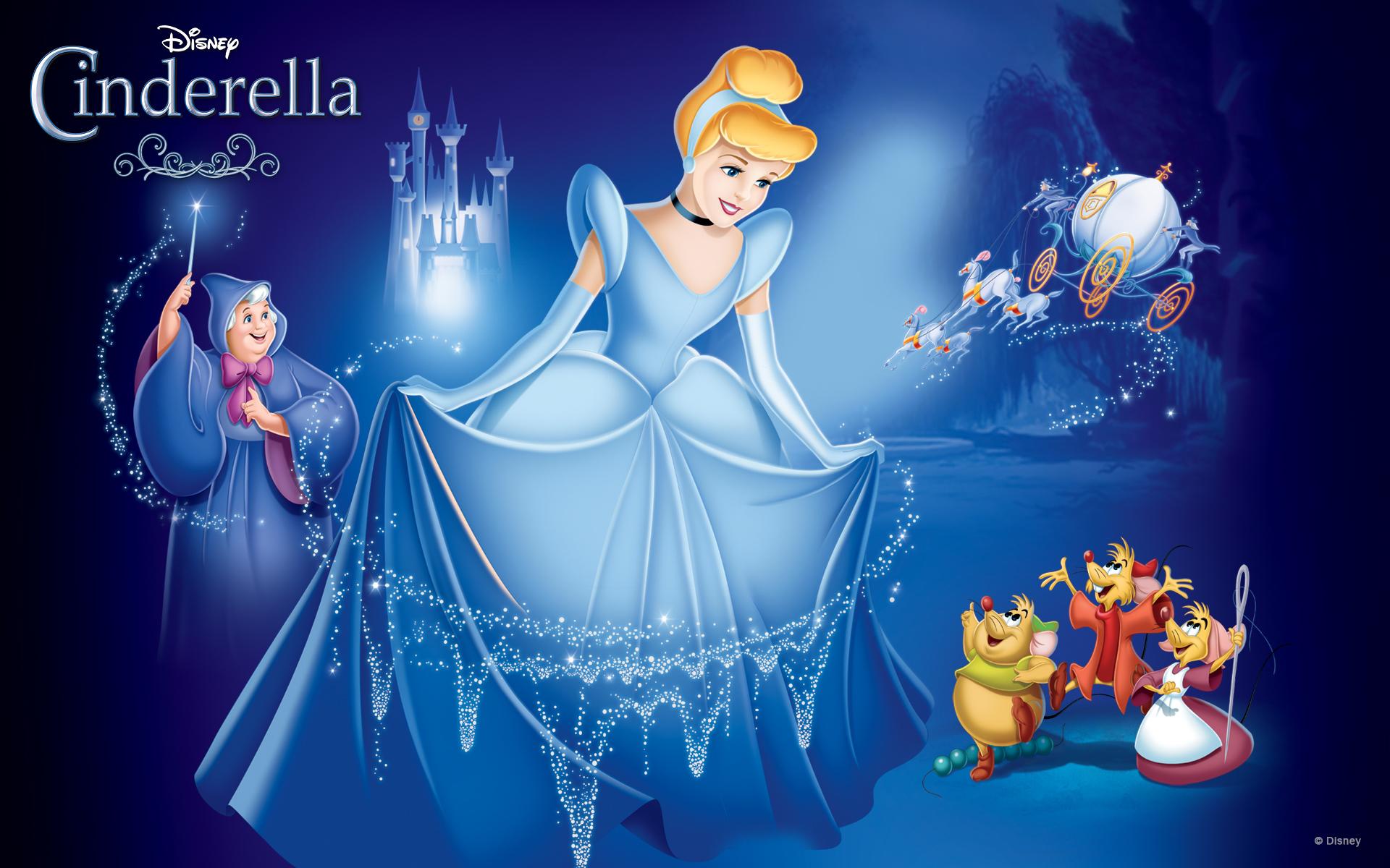8 HD Cinderella Princess Wallpapers