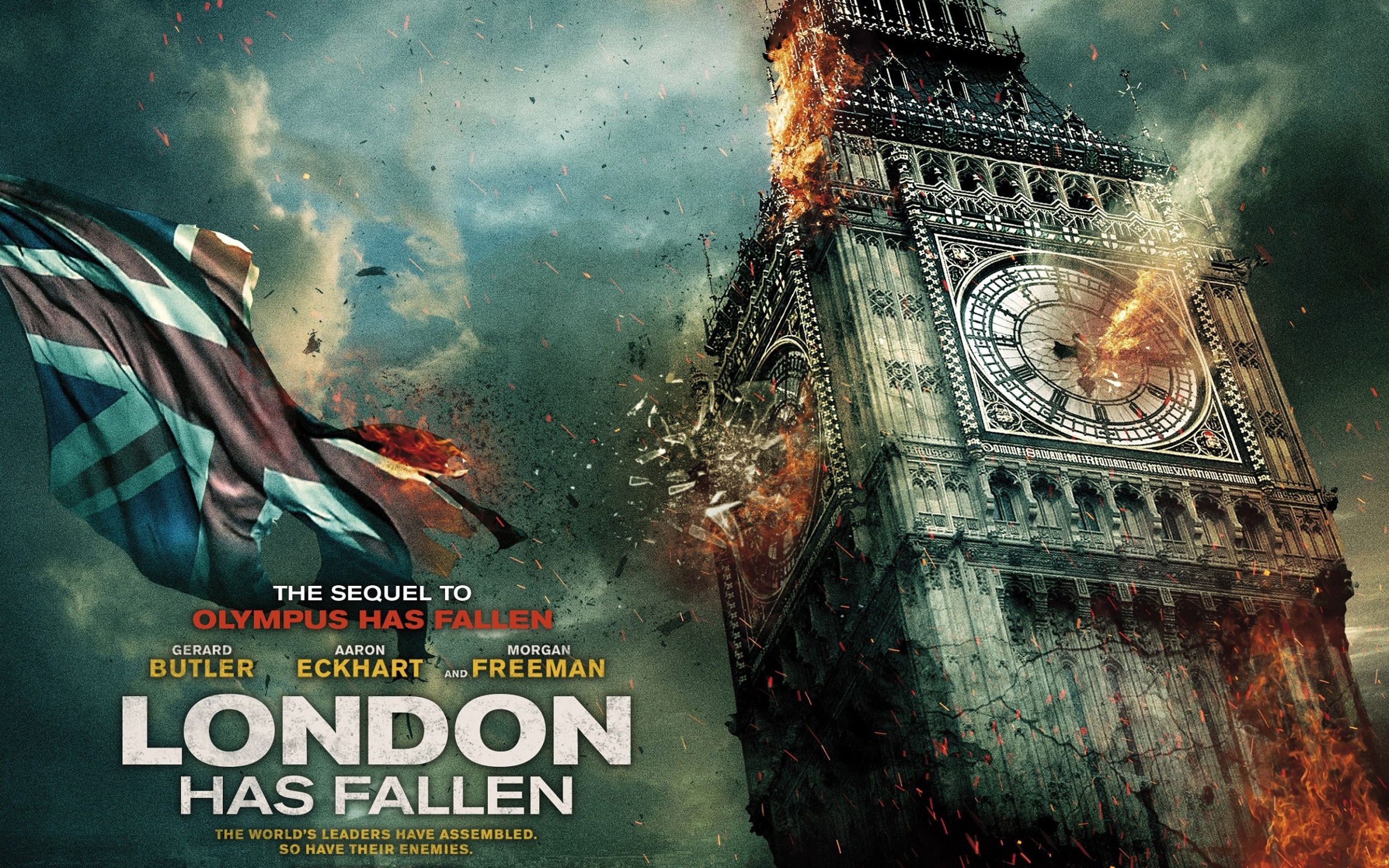 14 hd london has fallen movie wallpapers