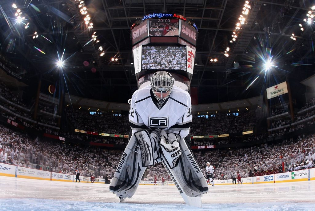 nhl la kings widescreen wallpapers