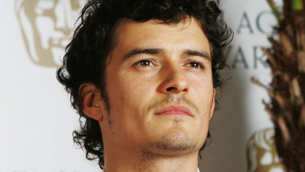 orlando bloom face wallpapers