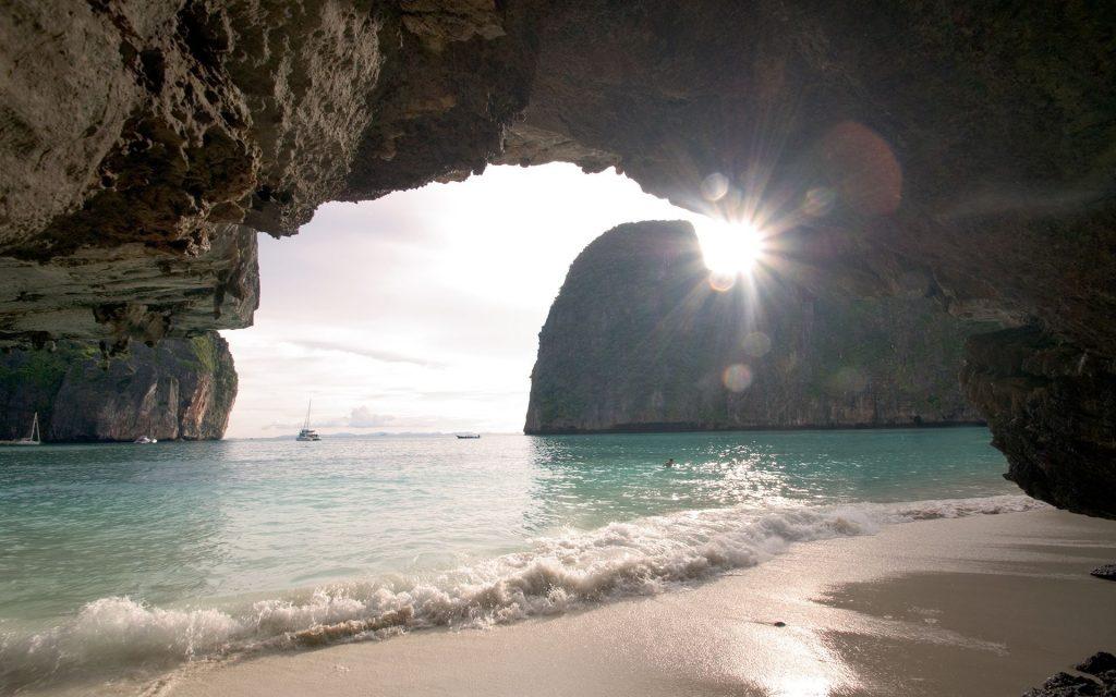 sea-cave desktop wallpapers
