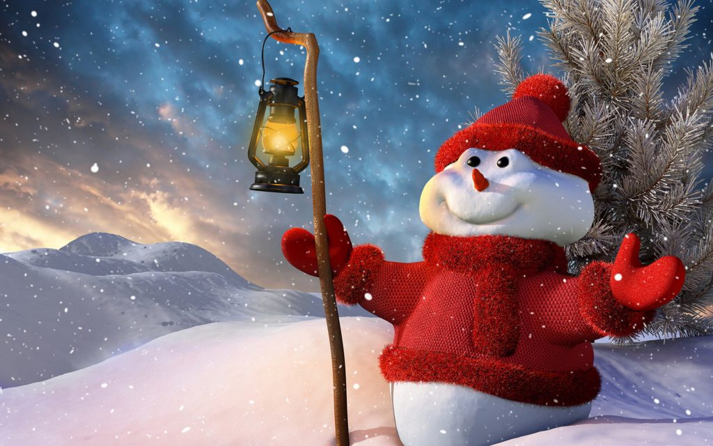 snowman background wallpapers