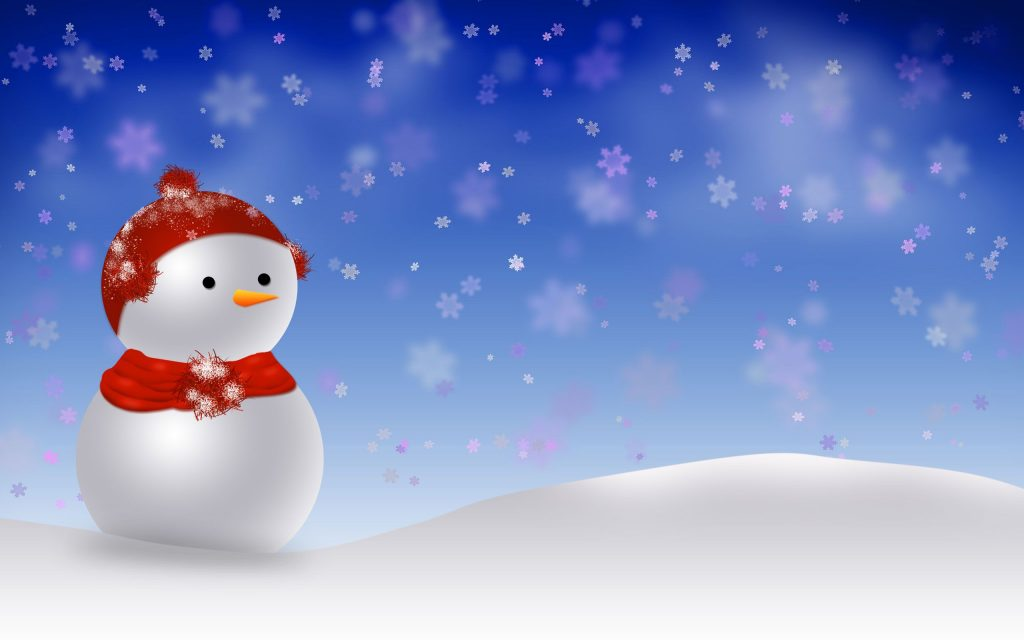snowman wide wallpapers