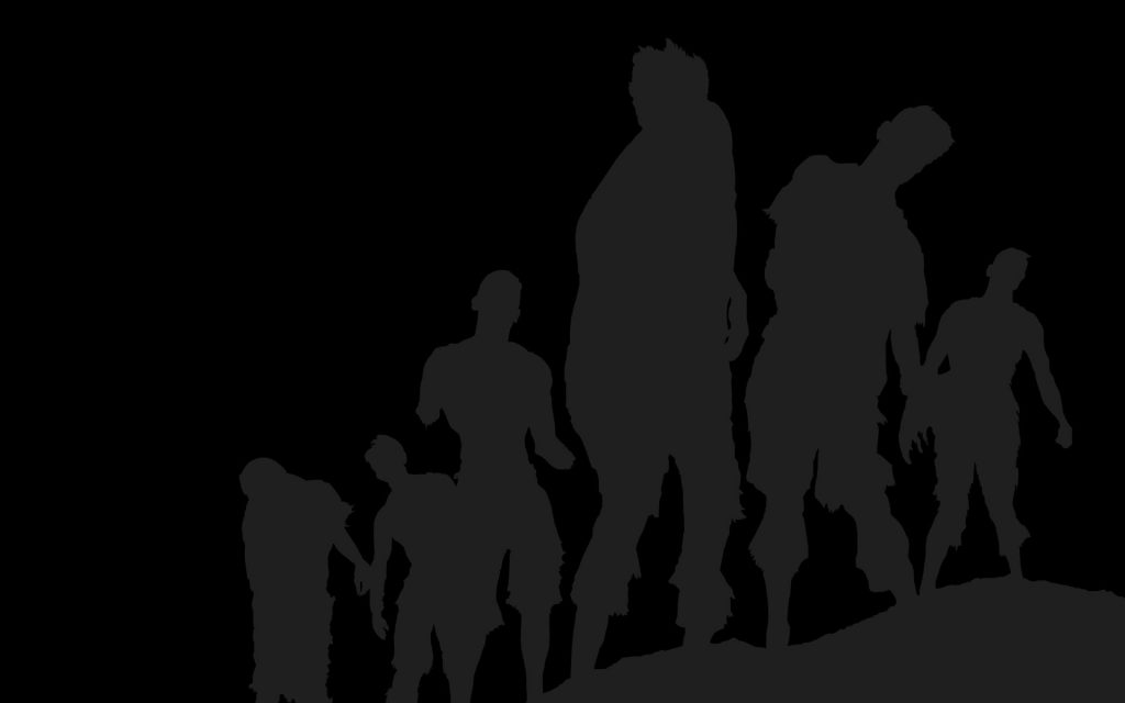 zombie outlines wallpapers