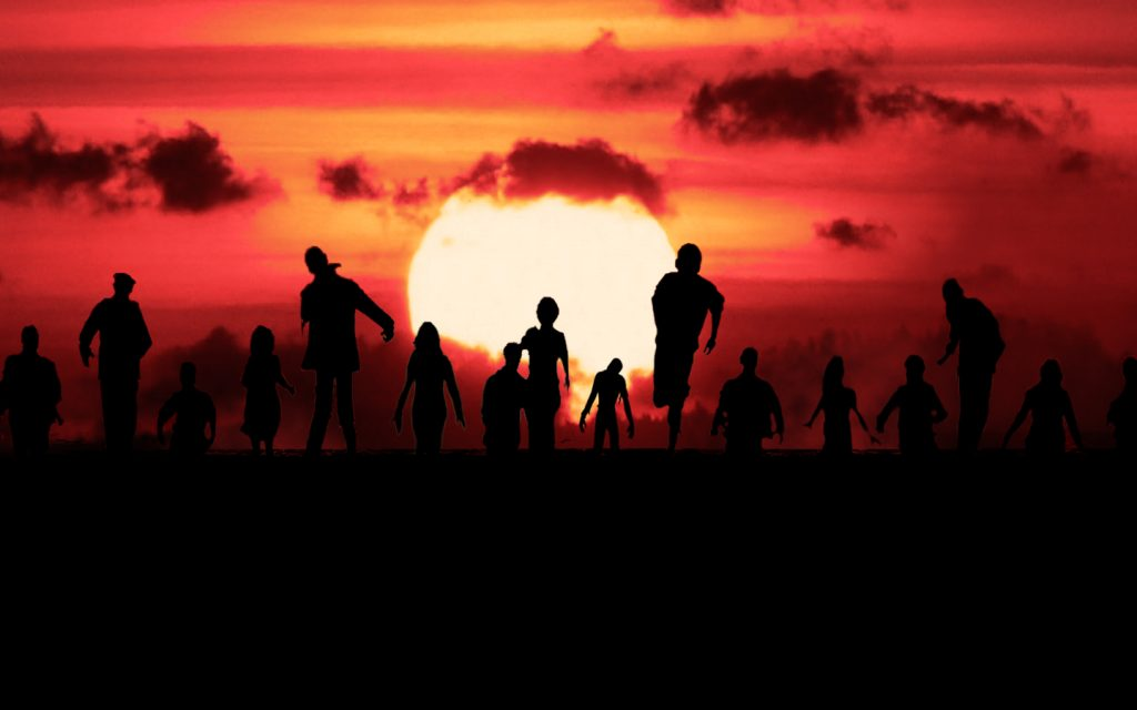 zombie silhouette pictures wallpapers