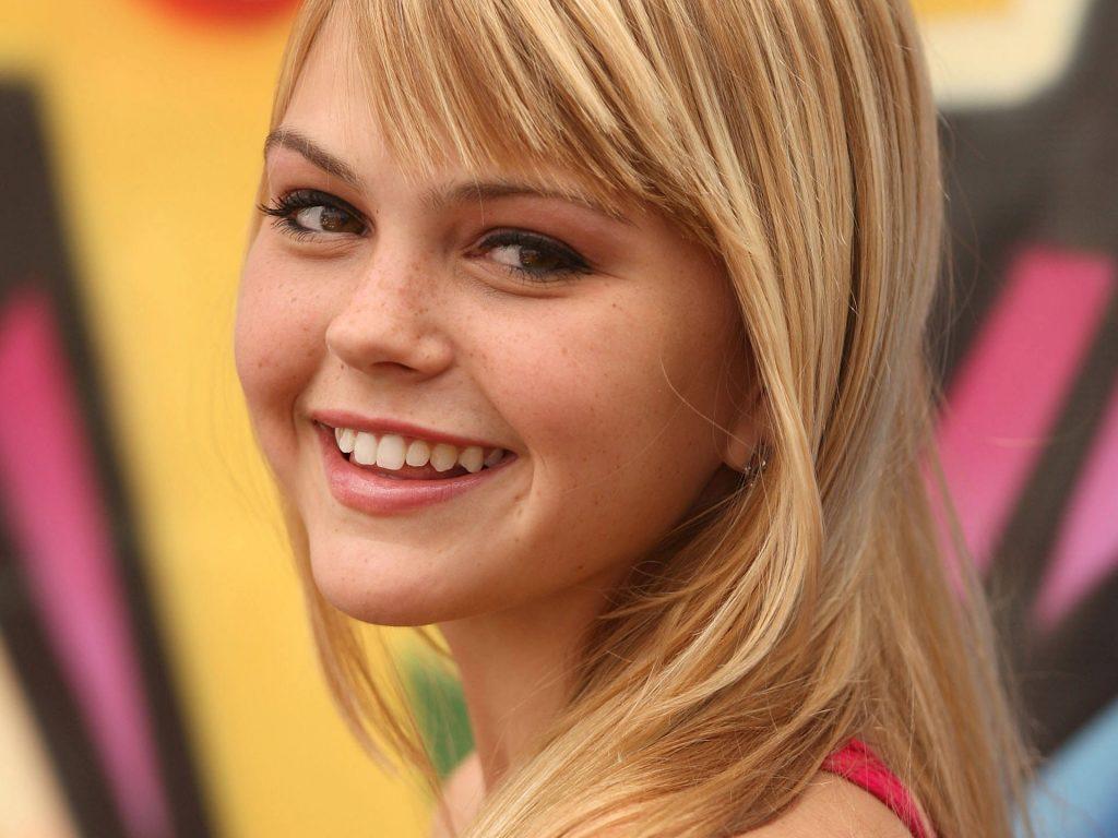 aimee teegarden actress smile wallpapers