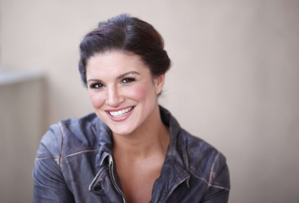 gina carano smile pictures wallpapers