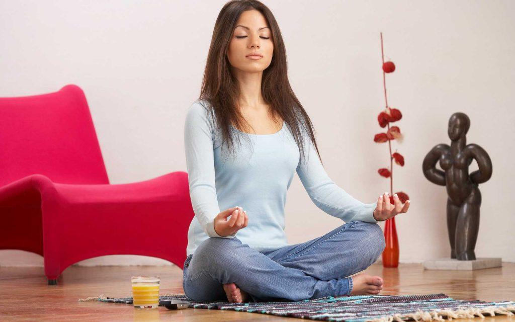 meditation girl desktop wallpapers