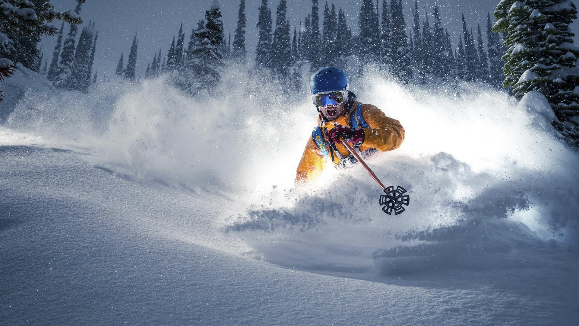 29 fantastic hd skiing wallpapers - Ski wallpaper ...