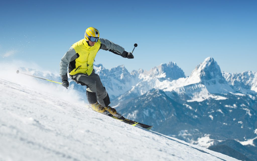 skiing wide wallpapers