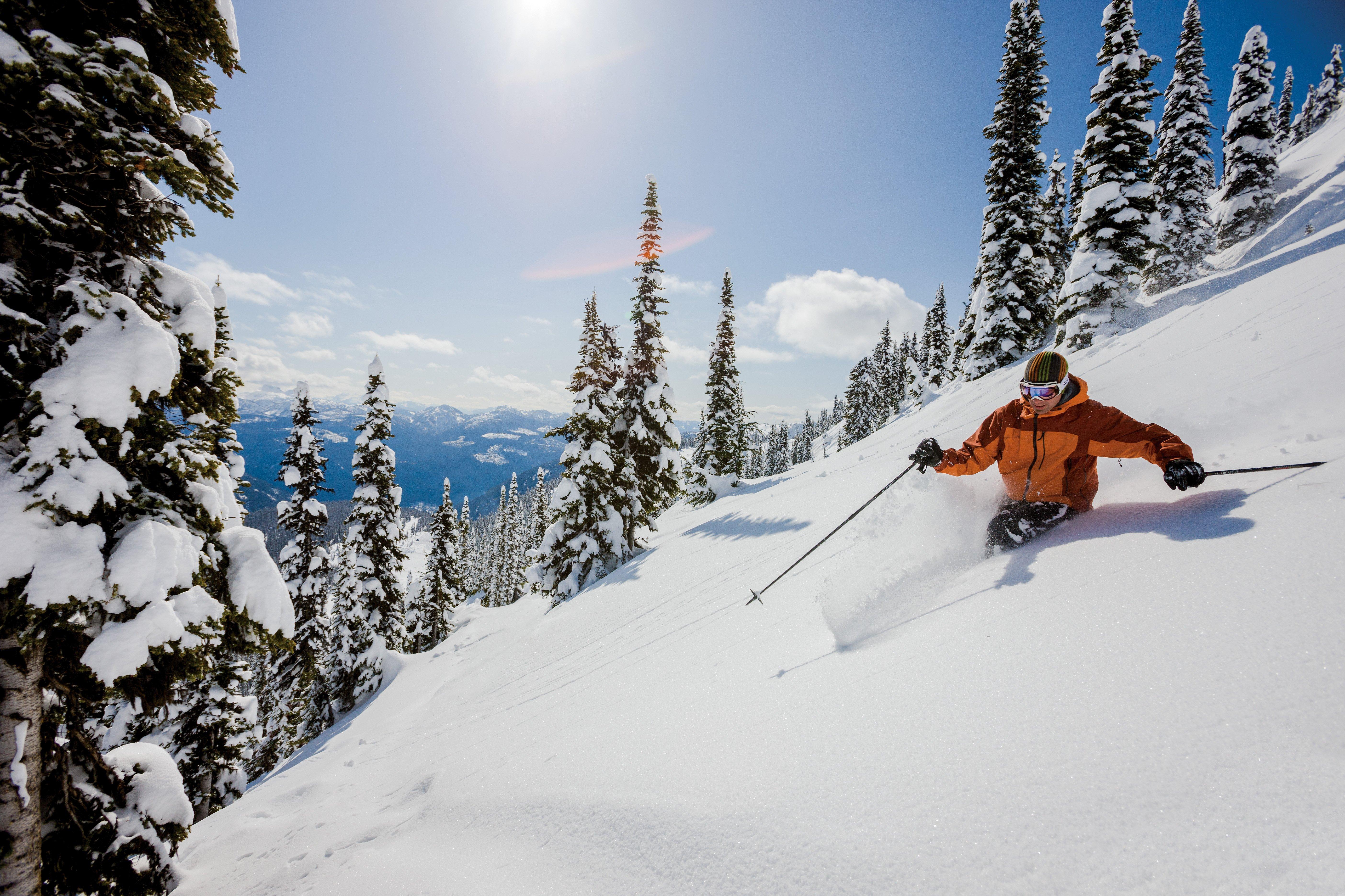 Hd skiing wallpaper