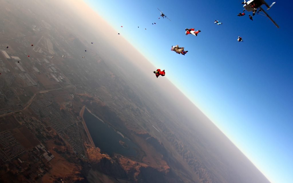 skydiving background wallpapers