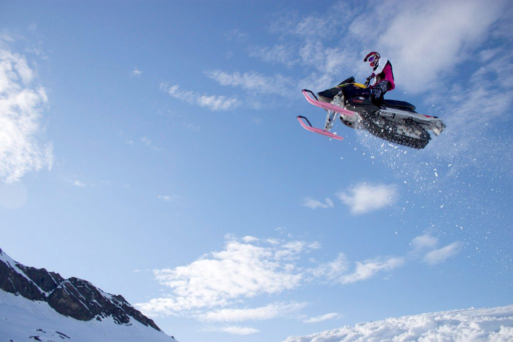 snowmobile jump wallpapers
