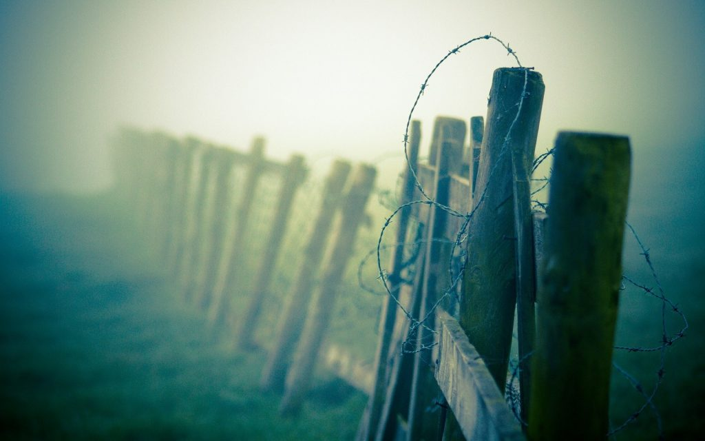 barbed wire fence wallpapers