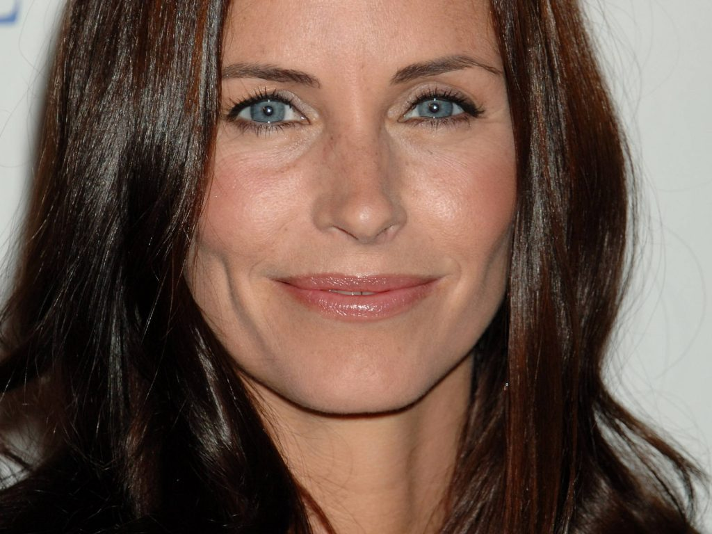courteney cox face wallpapers