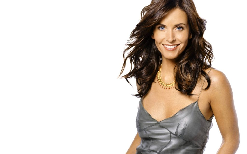 courteney cox smile wallpapers