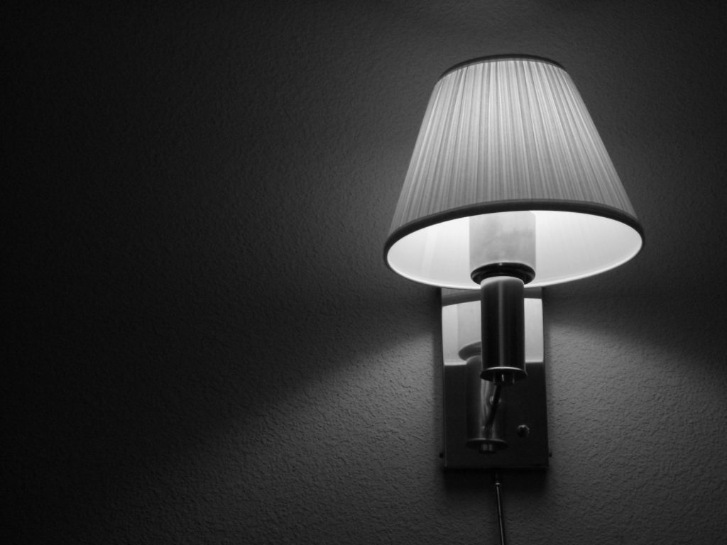 monochrome lamp wallpapers