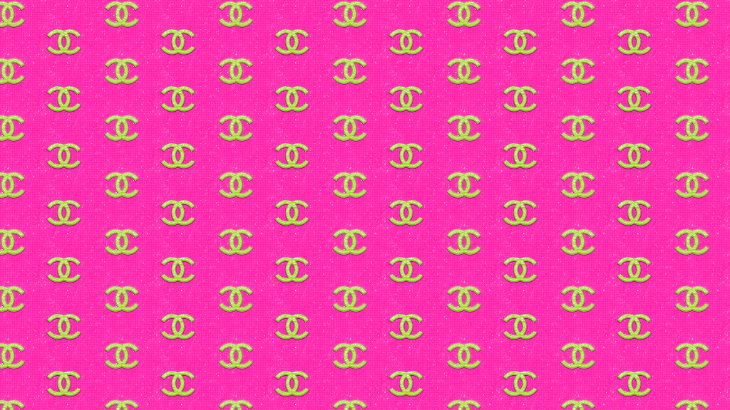 pink chanel logo pattern wallpapers