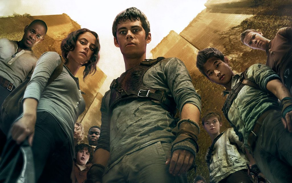 the maze runner movie cast wallpapers