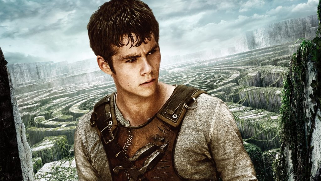 the maze runner movie thomas wide wallpapers
