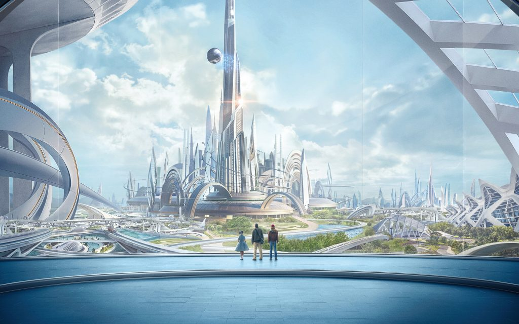 tomorrowland movie widescreen wallpapers