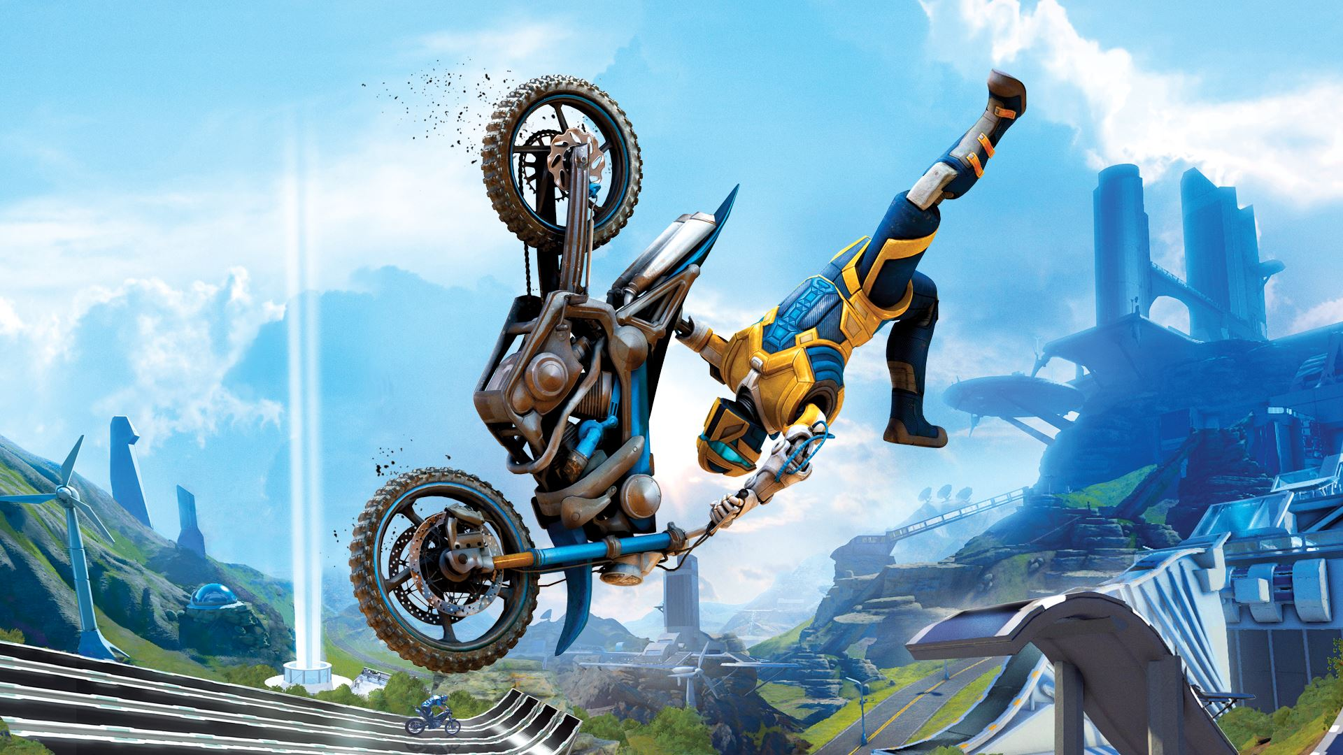 18 HD Trials Fusion Game Wallpapers
