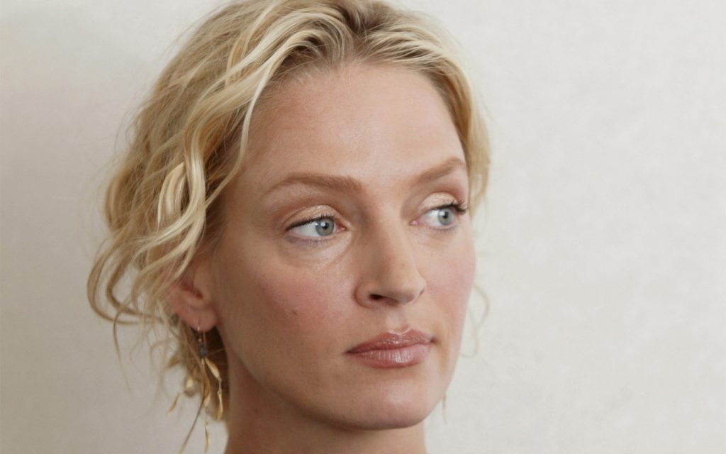 uma thurman face wallpapers