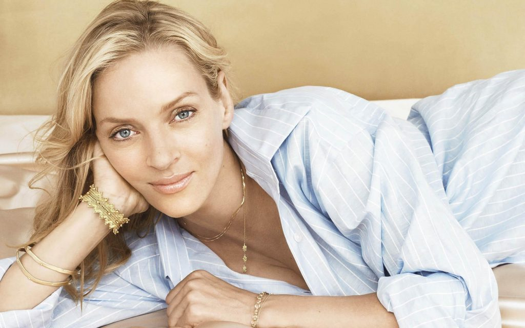 uma thurman widescreen wallpapers