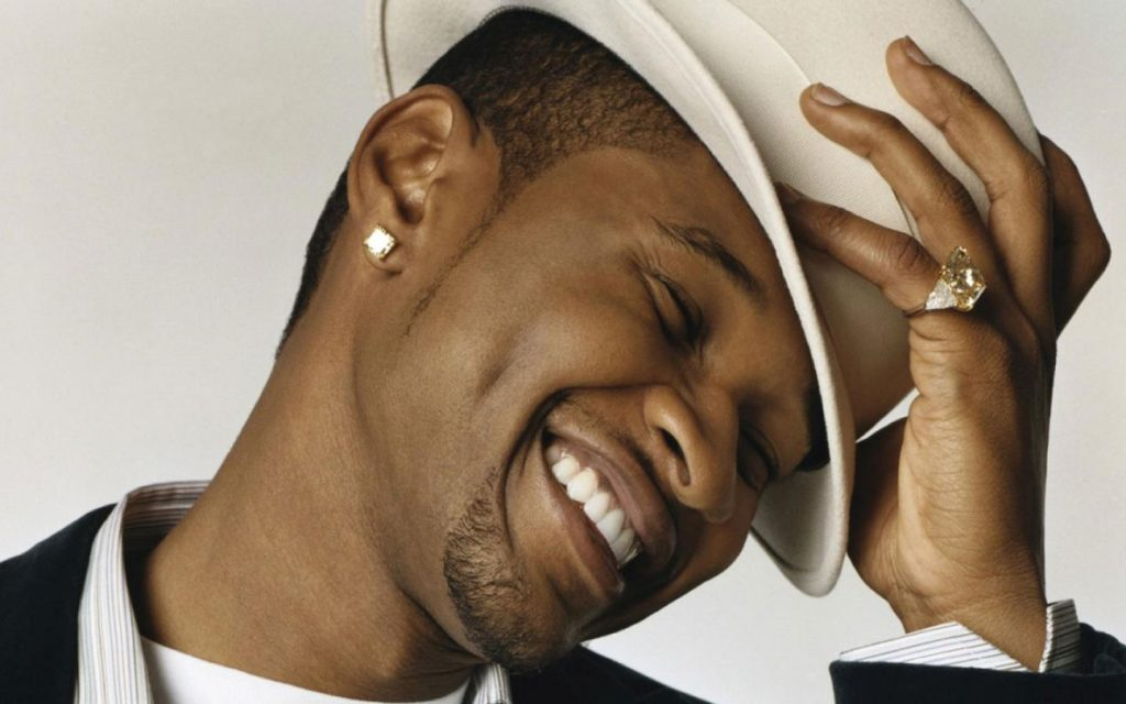 usher smile wallpapers