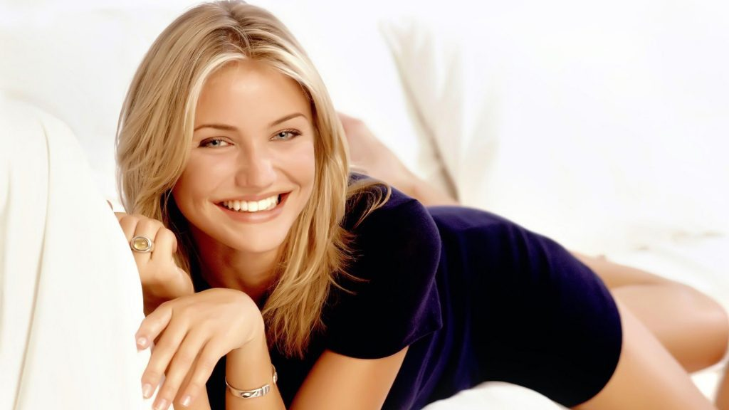 cute cameron diaz smile wallpapers
