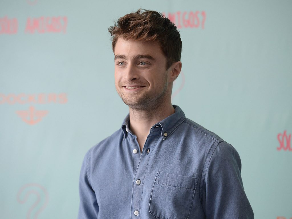 daniel radcliffe actor smile wallpapers